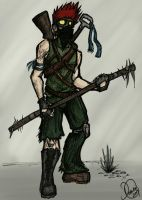 Wanderer of the Wastes by TwilightsDon