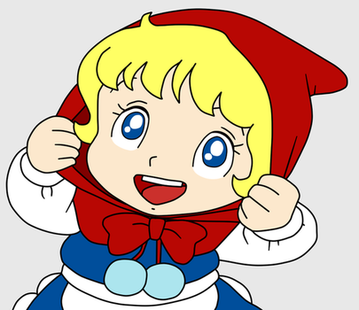 Saban little red riding hood by Maleiva