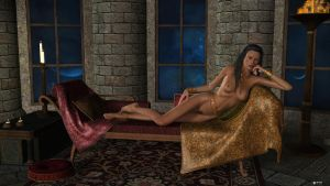 Madayana and her treasure by sigquit