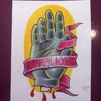 Kingslayer's Hand tattoo design by Hobojay