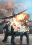 Airport disaster by morgenty