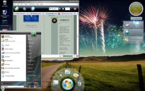 Desktop win7 longhorn fusion by sunnymahan007