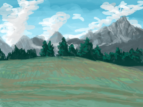 Mountain by femalefred