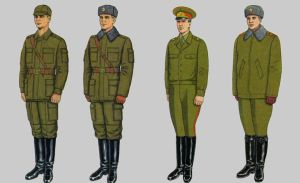 Soviet Army Uniforms 32 by Peterhoff3