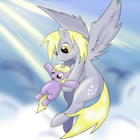 Ditzy and Dinky To The Skies by Nidoranity