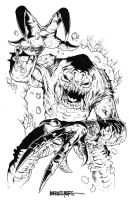 The RANCOR from RETURN OF THE JEDI by MikeWolfer