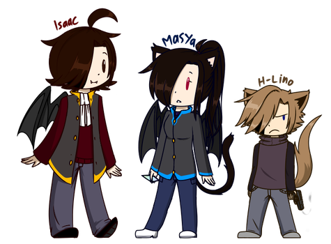 Le Vampire Family by LinoDaEeveeOverlord