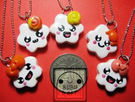 Candy Cuties Necklaces by efeeha
