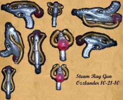 steam ray gun by Ozzlander