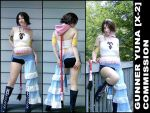 Costume Commission: X-2 Yuna. by cupcake-rufflebutt