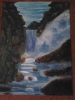 Waterfall by Scally95