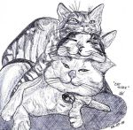 Cat Stack by LAReal