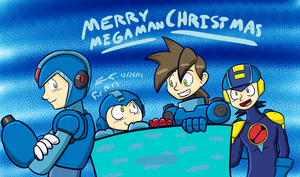 Merry MegaChristmas - For Nick by Mister-Saturn