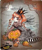 Halloween Princess_contest by SoLaNgE-scf