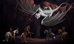 ~: Dragon Hunt :~ by alexpeanut