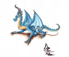 Corundum Dragon by DragonBellum92-DP
