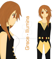 X-Men OC: Grace-Illumina by InuAngeL92