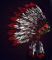 Indian Headdress by xmoleke
