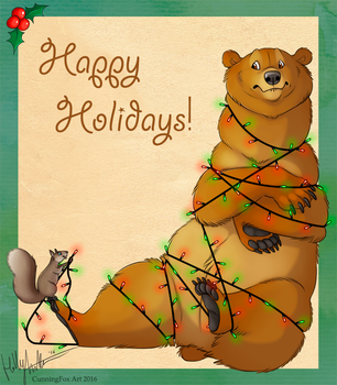 Beary Happy Holidays! by Bear-hybrid