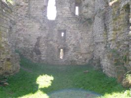 Stock: Castle Ruins 1 by legendpendragon9