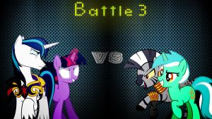 Pony Kombat 3 Round 1, Battle 3 by Mr-Kennedy92