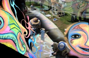 2008 HHS Chalk Festival by Duckweed