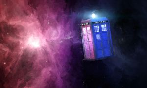 Tardis in Space by late-line