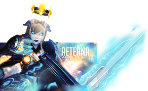 Twitch Chat Overlay Aterna by maybenotquiteasheavy