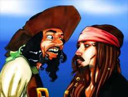 Pirates of the Caribbean by WarBrown