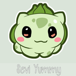 Chibi Bulbasaur by SeviYummy