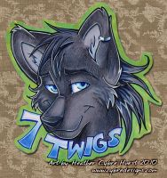 Badge Commission :: 7 Twigs by cybre