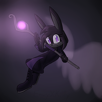 Mage bunny by EnvyXKitty