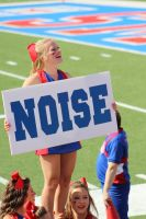 SMU Cheerleader by drumgirl67