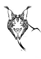 Iberian Lynx Awareness Tribal by Friend-Owl