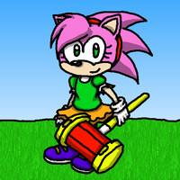 Amy Rose Classic Style by Kimmy-the-Echidna