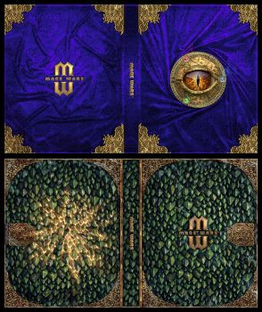 Mage Wars - Spell book sleeves - SET 4 by Deligaris