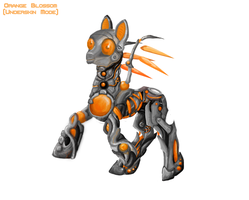 Orange Blossom (Underskin mode) by KyuubiNight