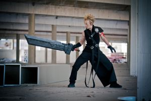 Cloud Strife by EduardLuzhetskiy