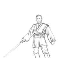 Obi Wan Kenobi (WIP) by GamerZzon