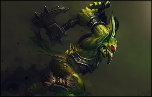 Goblin warcraft by Sn4yke