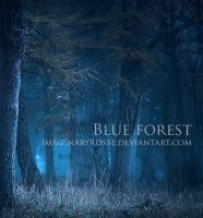 Blue Forest by ImaginaryRosse