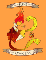 Flame Princess by Arcana-break