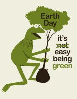 Being Green - Earth Day '09 by PabloQ