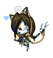 PC-Abril the cat by eokoi