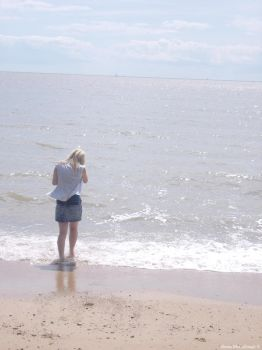 Looking out to sea. by Shona-McCullough
