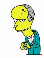 MR. Burns From The Simpsons by nir98