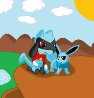 Me and WEBDOGS209 by pokemonlover5673