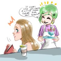 Sugar for your reading by oasiswinds