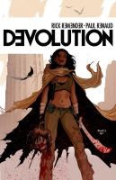DEVOLUTION art by PaulRenaud