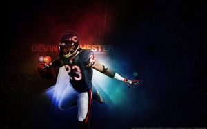 Devin Hester Wallpaper by Angelmaker666